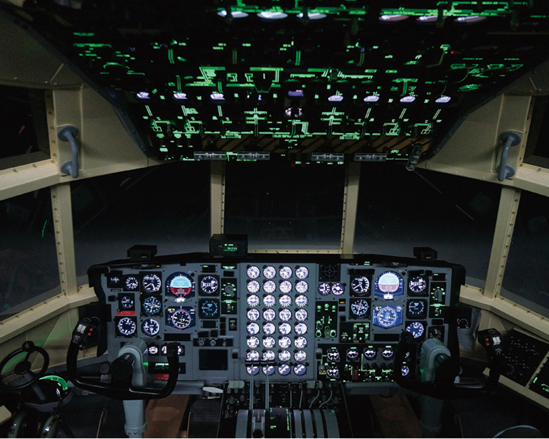 Simulator Cockpit Panel